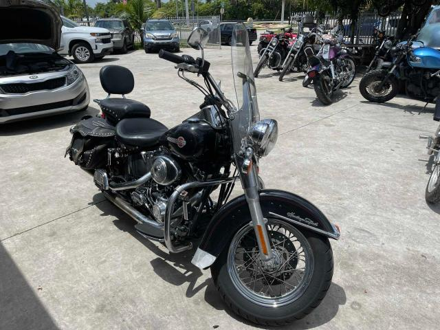 Salvage motorcycles for sale at Opa Locka, FL auction: 2002 Harley-Davidson Flstc