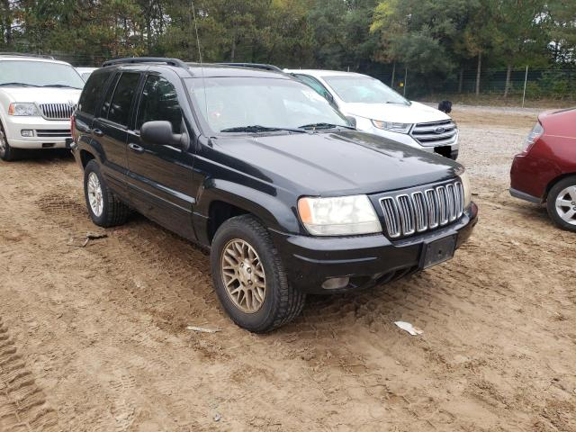 Jeep Cherokee salvage cars for sale: 2002 Jeep Cherokee