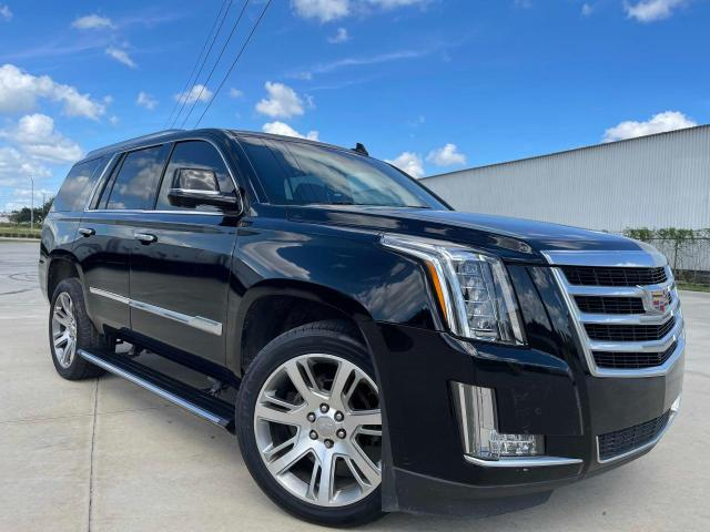 Salvage cars for sale from Copart Houston, TX: 2016 Cadillac Escalade P