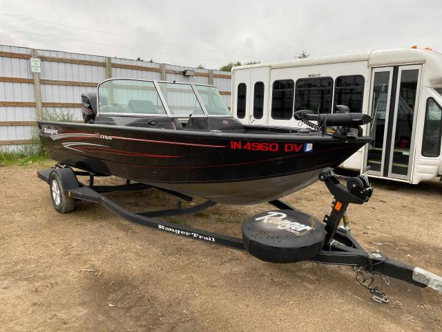 Salvage boats for sale at Avon, MN auction: 2015 Rang Boat Trailer