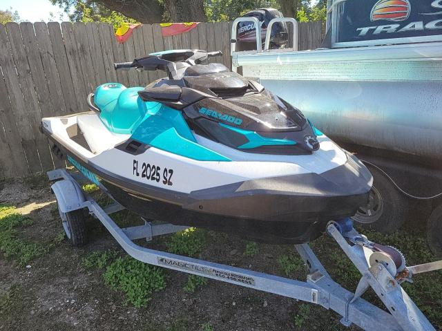 Salvage boats for sale at Eight Mile, AL auction: 2021 Seadoo GTX