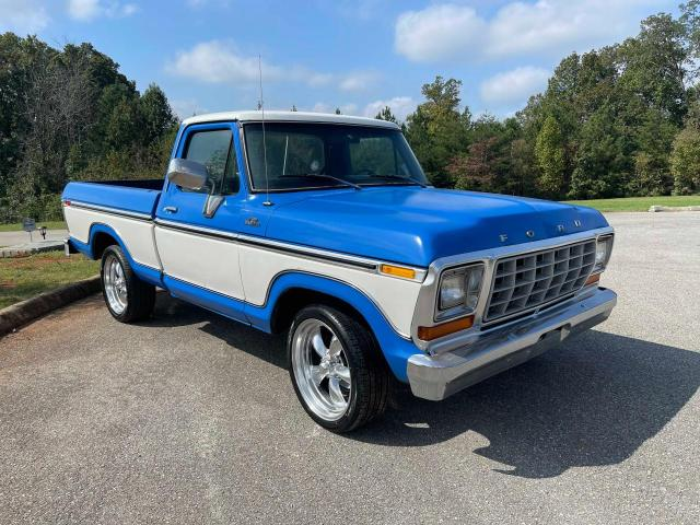 Ford F100 salvage cars for sale: 1978 Ford F100