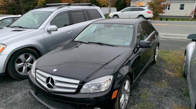 Vehiculos salvage en venta de Copart Elmsdale, NS: 2010 Mercedes-Benz C 300 4matic
