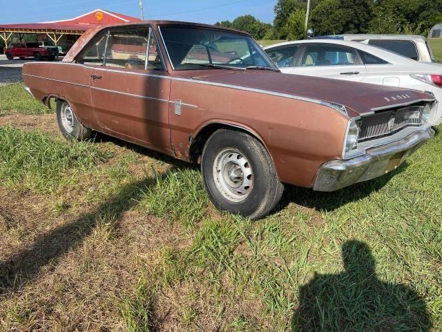 Dodge Dart salvage cars for sale: 1967 Dodge Dart
