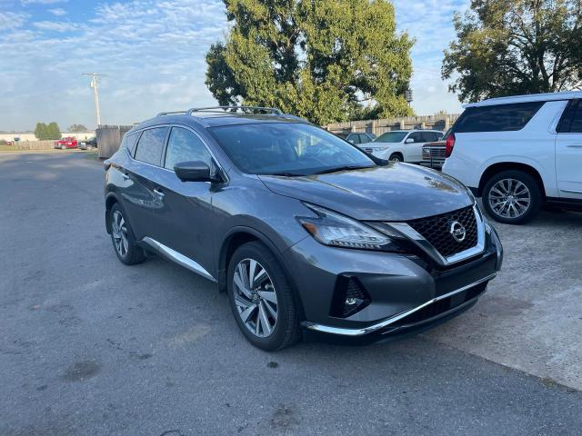 Salvage cars for sale at Conway, AR auction: 2021 Nissan Murano SL