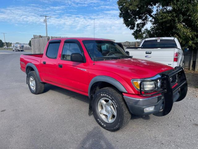 Salvage trucks for sale at Conway, AR auction: 2001 Toyota Tacoma DOU