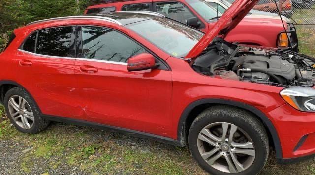 Vehiculos salvage en venta de Copart Elmsdale, NS: 2015 Mercedes-Benz GLA 250 4M