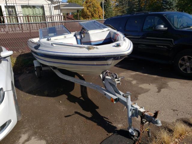 Bayliner salvage cars for sale: 1987 Bayliner Boat With Trailer