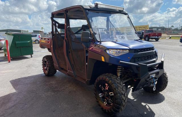 Salvage motorcycles for sale at Mercedes, TX auction: 2021 Polaris Ranger CRE