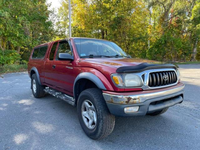 Salvage cars for sale from Copart Mendon, MA: 2001 Toyota Tacoma XTR