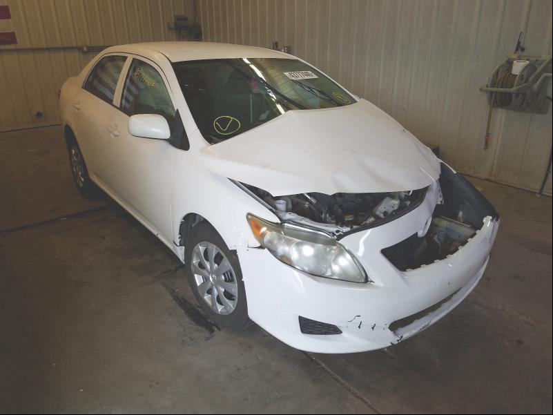 Toyota Corolla BA salvage cars for sale: 2009 Toyota Corolla BA