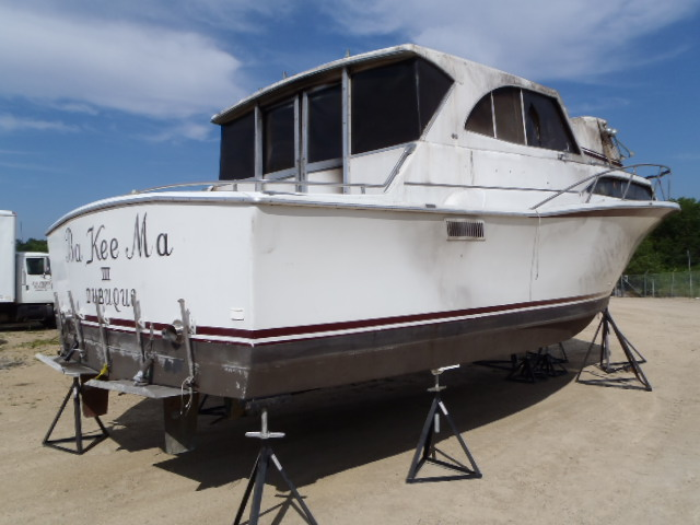 33G207 - 1968 PACE BOAT ONLY rear view