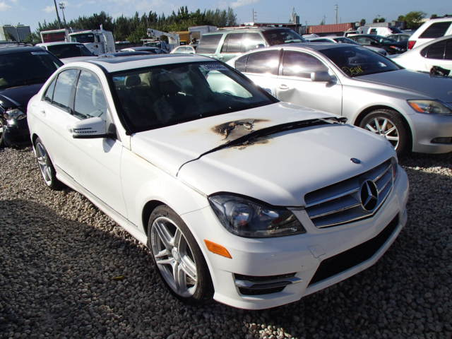 Auto auction ended on vin wddgf4hb4dr300285 2013 mercedes for Mercedes benz of north miami