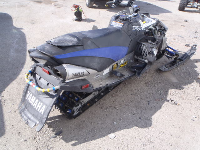 JYE8FR5007A000111 - 2007 YAMAHA SNOWMOBLE rear view