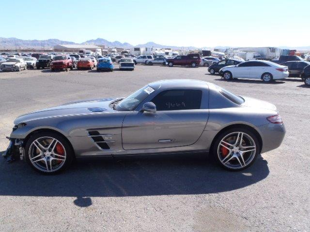2012 mercedes benz sls amg for sale mn crashedtoys for Mercedes benz sls amg for sale