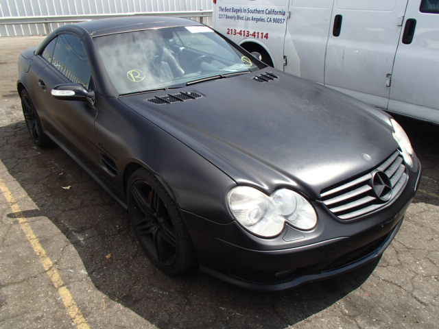 Auto auction ended on vin wdbsk74fx6f116739 2006 mercedes for 2006 mercedes benz sl55 amg