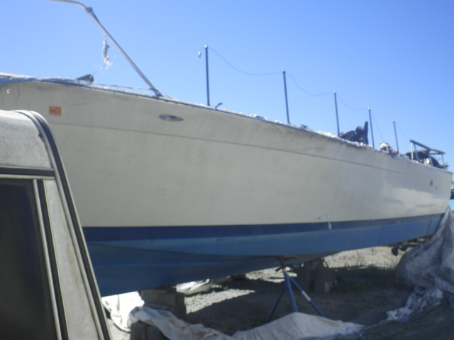 FXA315031 - 1971 CRIS BOAT ONLY rear view