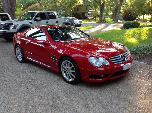 auto auction ended on vin wdbsk74f45f090198 2005 mercedes benz sl55 amg in tx austin. Black Bedroom Furniture Sets. Home Design Ideas