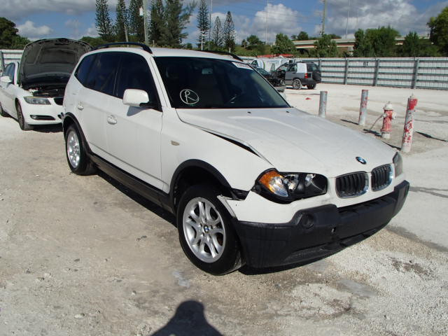 auto auction ended on vin wbxpa73425wc46707 2005 bmw x3 2 5 in miami central fl. Black Bedroom Furniture Sets. Home Design Ideas