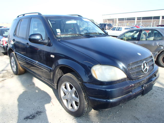 Auto auction ended on vin 4jgab72e5ya160392 2000 mercedes for 2000 mercedes benz ml430