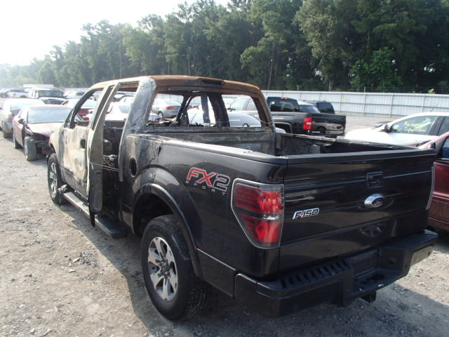 1FTFW1CT6CFA22154 - 2012 FORD F150 3.5L [Angle] View