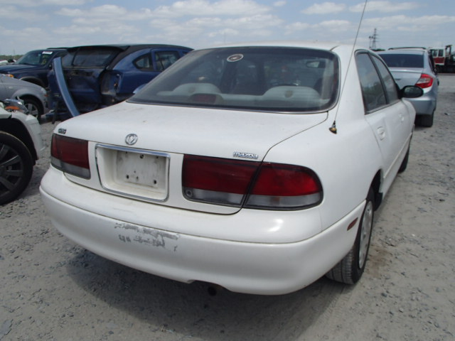 1YVGE22CXV5592899 - 1997 MAZDA 626 DX/LX 2.0L rear view