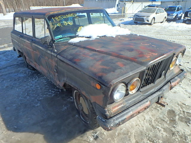 Auto Auction Ended On Vin 141421498 1963 Jeep Wagoneer In Ma West
