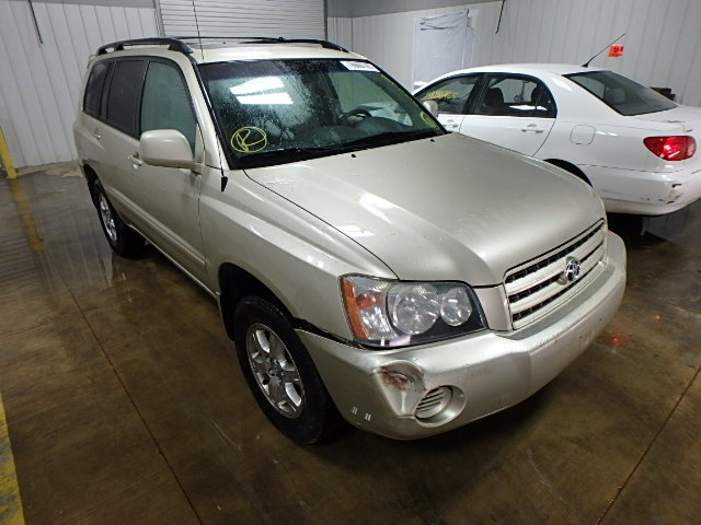 auto auction ended on vin jtehf21a410025520 2001 toyota highlander in minneapolis north mn. Black Bedroom Furniture Sets. Home Design Ideas