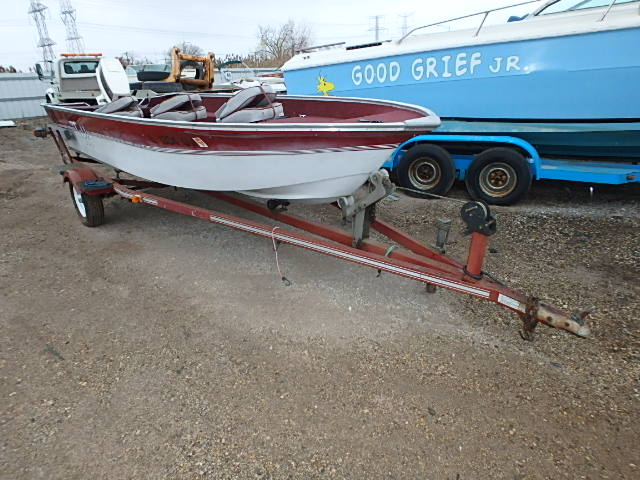 Salvage 1986 Tuffy MARINE TRAILER for sale