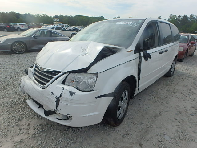 2008 CHRYSLER TOWN & COU