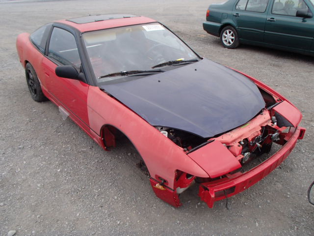 1993 nissan 240sx se for sale pa harrisburg salvage. Black Bedroom Furniture Sets. Home Design Ideas
