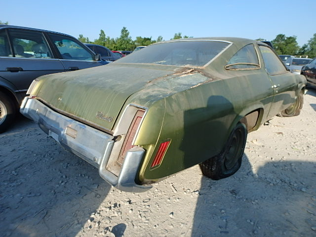 3F37K3R140656 - 1987 OLDSMOBILE CUTLASS rear view