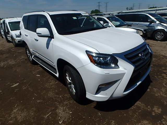 2015 lexus gx 460 for sale il chicago north salvage cars copart usa. Black Bedroom Furniture Sets. Home Design Ideas