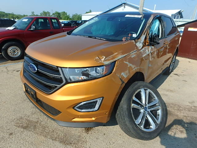 auto auction ended on vin 2fmtk4ap9fbb02622 2015 ford edge sport in peoria il. Black Bedroom Furniture Sets. Home Design Ideas