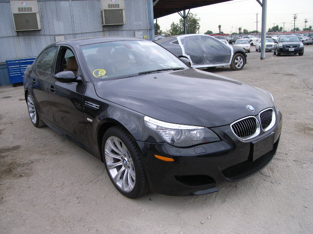2008 bmw m5 for sale ca los angeles salvage cars. Black Bedroom Furniture Sets. Home Design Ideas