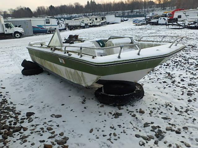 NJZ39001HULL - 1973 STAR MARINE LOT
