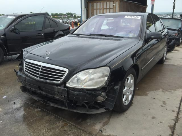Auto auction ended on vin wdbng75j22a311209 2002 mercedes for Mercedes benz 2002 s500 for sale