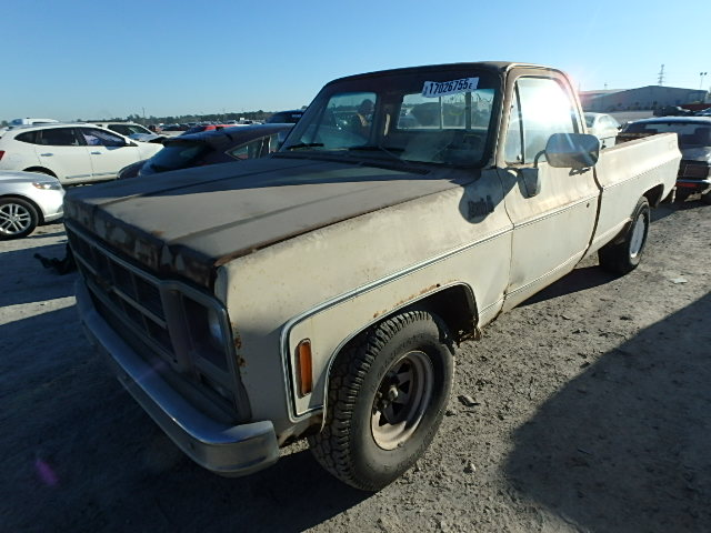TCL449A514494 - 1979 GMC PICK UP Right View