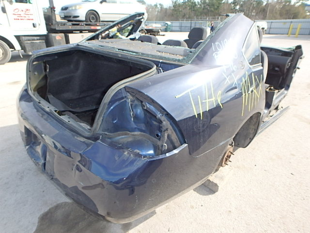 2G1WB58KX81305683 - 2008 CHEVROLET IMPALA LS 3.5L rear view