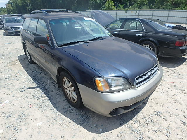 4S3BH665017673158 - 2001 SUBARU LEGACY OUT 2.5L Left View