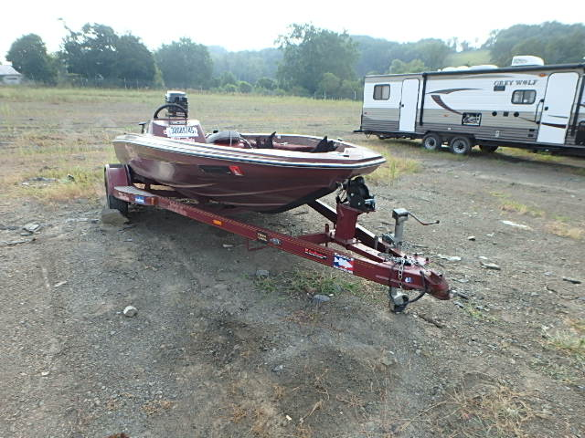 Salvage 1984 Skeeter MARINE TRAILER for sale