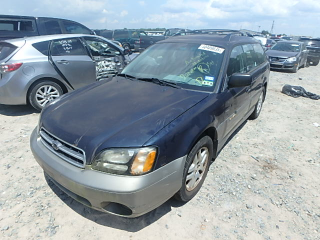 4S3BH665017673158 - 2001 SUBARU LEGACY OUT 2.5L Right View