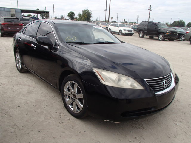 auto auction ended on vin jthbj46g872037599 2007 lexus es. Black Bedroom Furniture Sets. Home Design Ideas