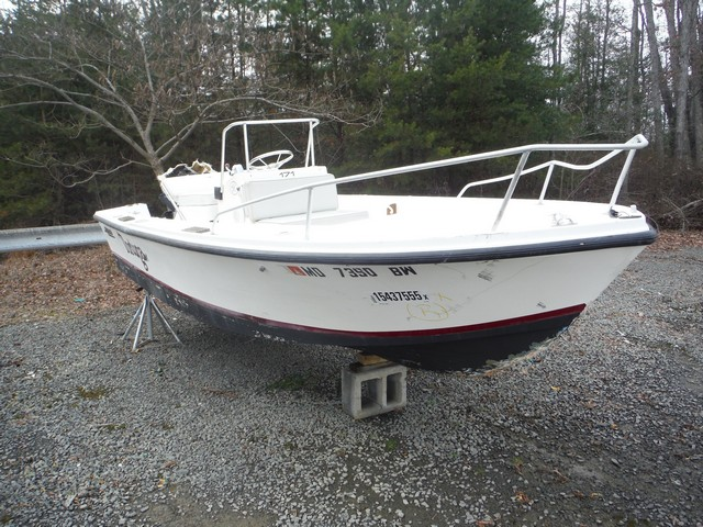 Mako Boat salvage cars for sale: 1988 Mako Boat
