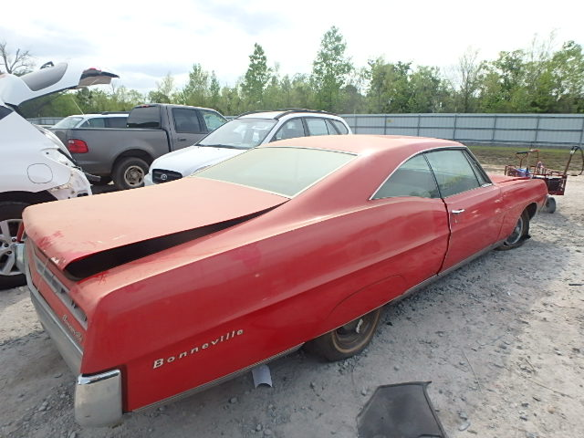 262877R107841 - 1965 PONTIAC BONNEVILLE rear view