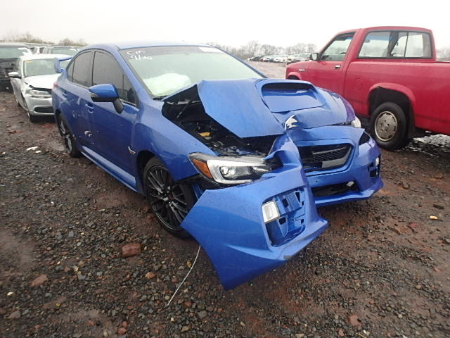 2015 subaru wrx sti for sale pa philadelphia salvage cars copart usa. Black Bedroom Furniture Sets. Home Design Ideas