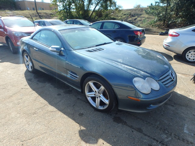 Auto auction ended on vin wdbsk75f44f081952 2004 mercedes for 2004 mercedes benz sl500 for sale