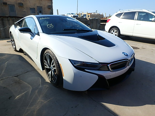 Auto Auction Ended On VIN WBYZCFVX BMW I In SC - 2015 bmw i8 for sale