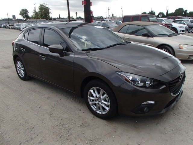 2015 mazda mazda3 gra for sale ca los angeles salvage cars copart usa. Black Bedroom Furniture Sets. Home Design Ideas