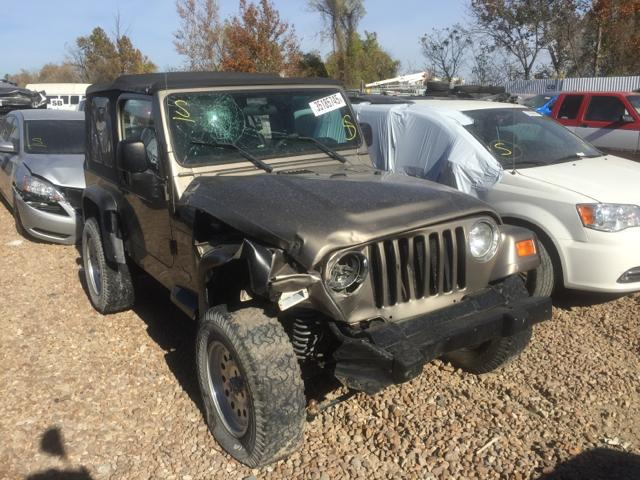 2003 jeep wrangler x for sale mo st louis salvage. Black Bedroom Furniture Sets. Home Design Ideas